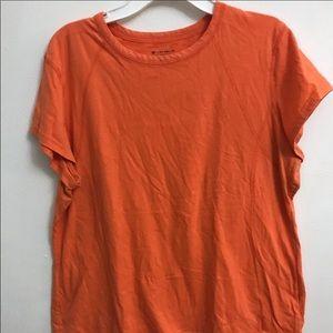 Women's XL TekGear orange shirt